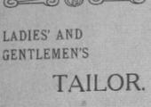 Gale, tailor, St Margaret's Street, Bradford on Avon