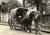 H.J. Penny's bakery delivery wagon, Bradford on Avon