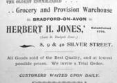 Jones, grocer, Bradford on Avon