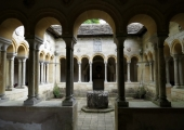 Iford, Wiltshire- the Cloister