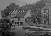 The Cross Guns pub, Avoncliff, Westwood