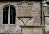 Bailward memorial, Wingfield church, Wiltshire