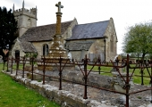 Caillard monuments, Wingfield, Wiltshire