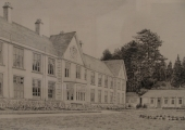 drawing of Winsley Sanatorium 1975