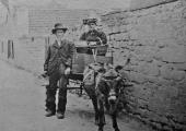 Winsley donkey carriage in Bradford on Avon
