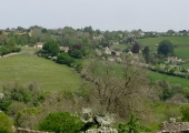 Turleigh, seen from Westwood