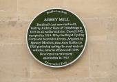 Abbey Mill, Bradford on Avon plaque