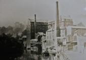 Abbey Mill, Bradford on Avon before rebuilding c1870