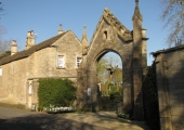 Woolley House arch