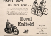 Royal Enfield advertisement