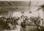 Beavans\' glove factory, Holt, 1930s