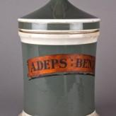 Pharmacy equipment: Unguent jars