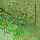 Initial LIDAR results - area south of Winsley