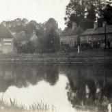 Canal wharf and Barge Inn