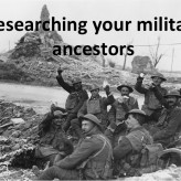 Museum Discussion Group – My Military Ancestors