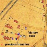 Trench locations August 2014